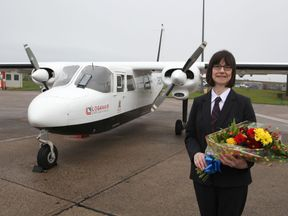 Anne Rendall has flown more than 10,000 trips on the service.