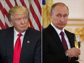 Donald Trump and Vladimir Putin have spoken on the phone