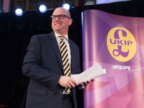 UKIP's new leader, Paul Nuttall