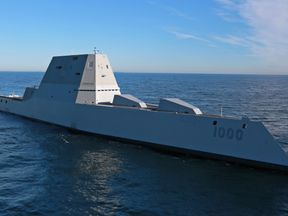 The USS Zumwalt has hit as few snags since it was launched