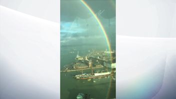 360 degree rainbow seen in Portsmouth