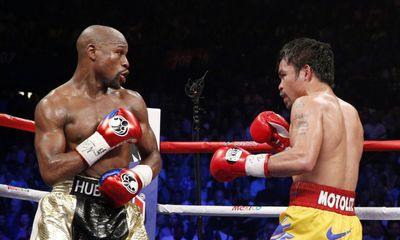 Boxer Pacquiao wants another Mayweather bout