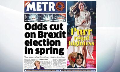 UK PM May seeks to keep Brexit plan going despite setback
