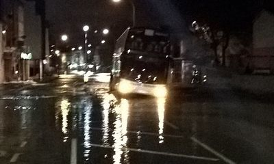 Major incident on Lee High Road after sinking coach