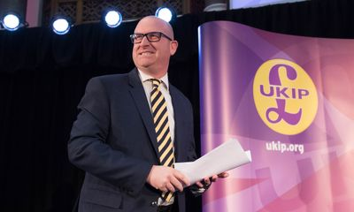 Paul Nuttall named new leader of UKIP