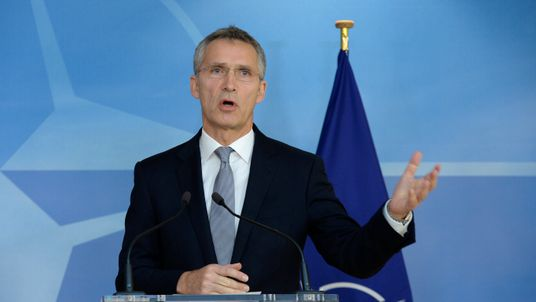 Jens Stoltenberg speaks against US isolation