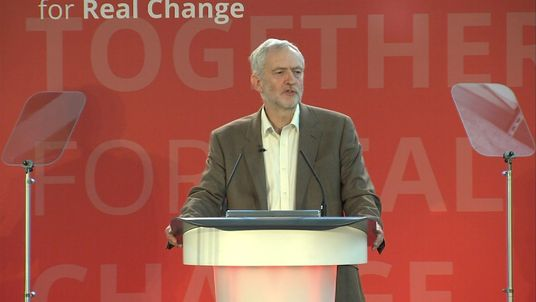 Jeremy corbyn says tories have 39 fanned flames of fear 39 on for Farcical part of speech