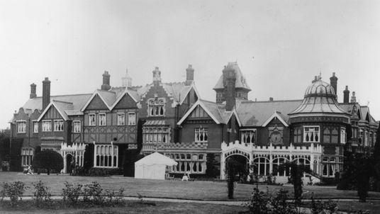 Bletchley Park - where the Enigma codebreakers were based
