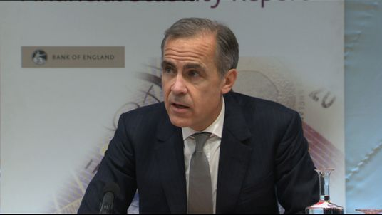 Mark Carney says the financial sector id robust but there are challenges