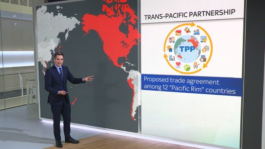 The Trans-Pacific Partnership is an agreement between 12 contries