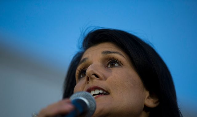 Donald Trump picks fierce critic Nikki Haley for United Nations job