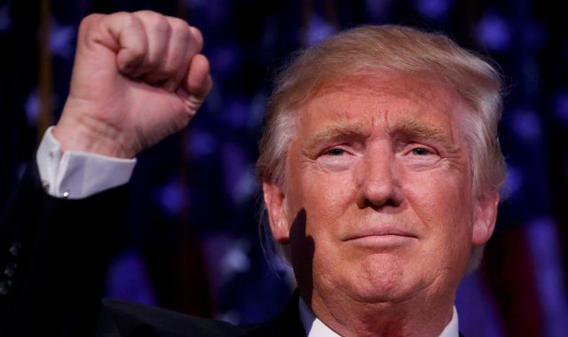 What time is Trump's inauguration and when does he become president?