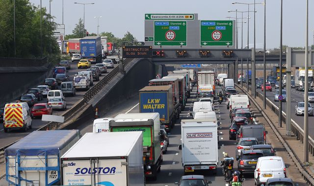 UK is third most traffic-congested country in Europe - study