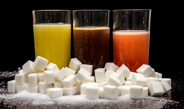 NHS considers banning sugary drinks from hospitals