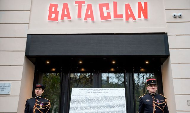 Sting Performs At Bataclan One Year After Paris Attacks