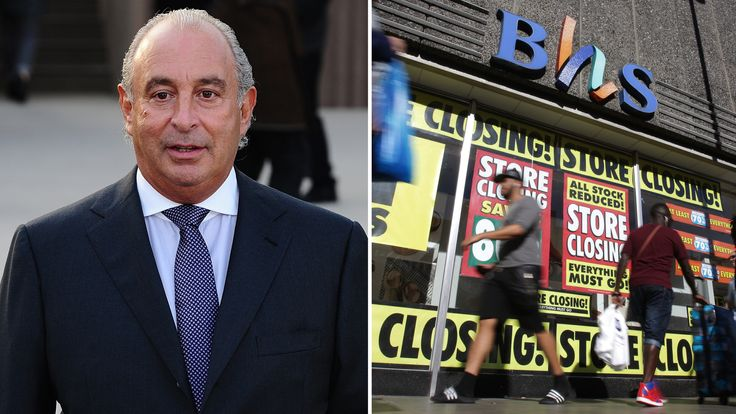 BHS pension rescue benefits 'loyal' managers to Sir Philip Green, MPs warn