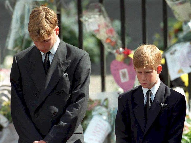 Princes William and Harry pay tribute to their mum at Diana Awards