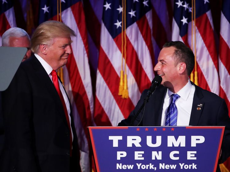 Reince Priebus will reportedly be White House chief of staff