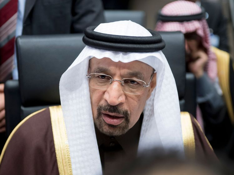 Saudi Arabia's energy minister Khalid al-Falih attends a meeting of the Organization of the Petroleum Exporting Countries, OPEC, at the OPEC headquarters in Vienna, Austria on November 30, 2016. OPEC sought to defy expectations and finalise a deal reducing its oil output for the first time in eight years, in an effort to boost painfully low crude prices