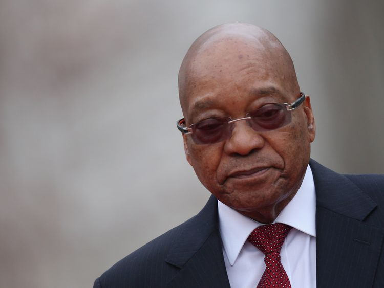 It is thought Mr Zuma would survive a vote of no confidence
