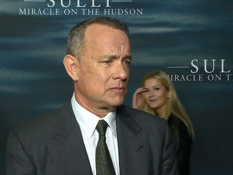 Hanks doesn't rule out playing the president-elect