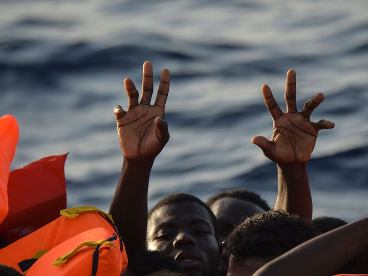 Coastguards and aid agencies have rescued thousands of migrants this year