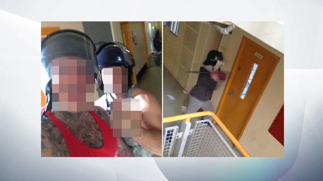 Six hundred inmates involved in prison riot at hmp