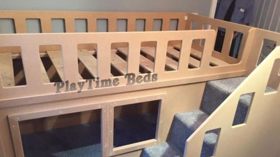 One of the company's designs. Pic: Playtime Beds