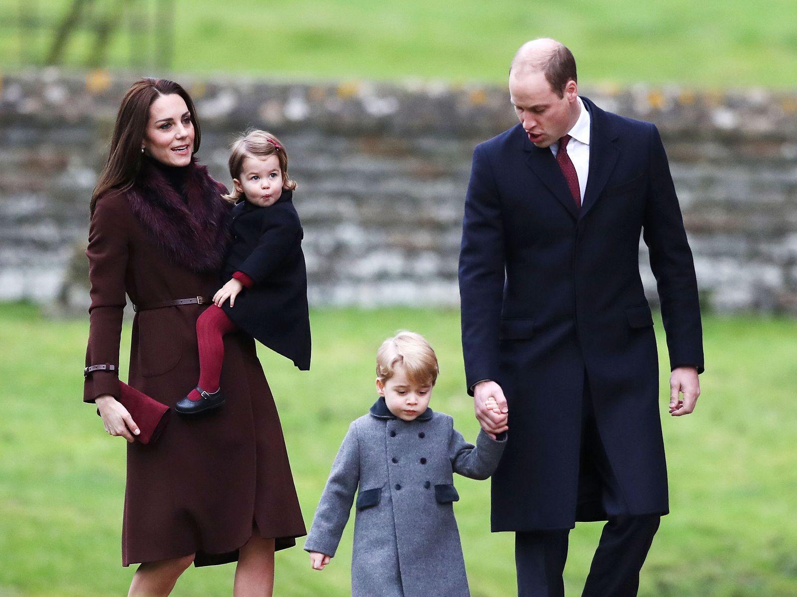 Кейт уильям и их дети последние новости 2018 фото