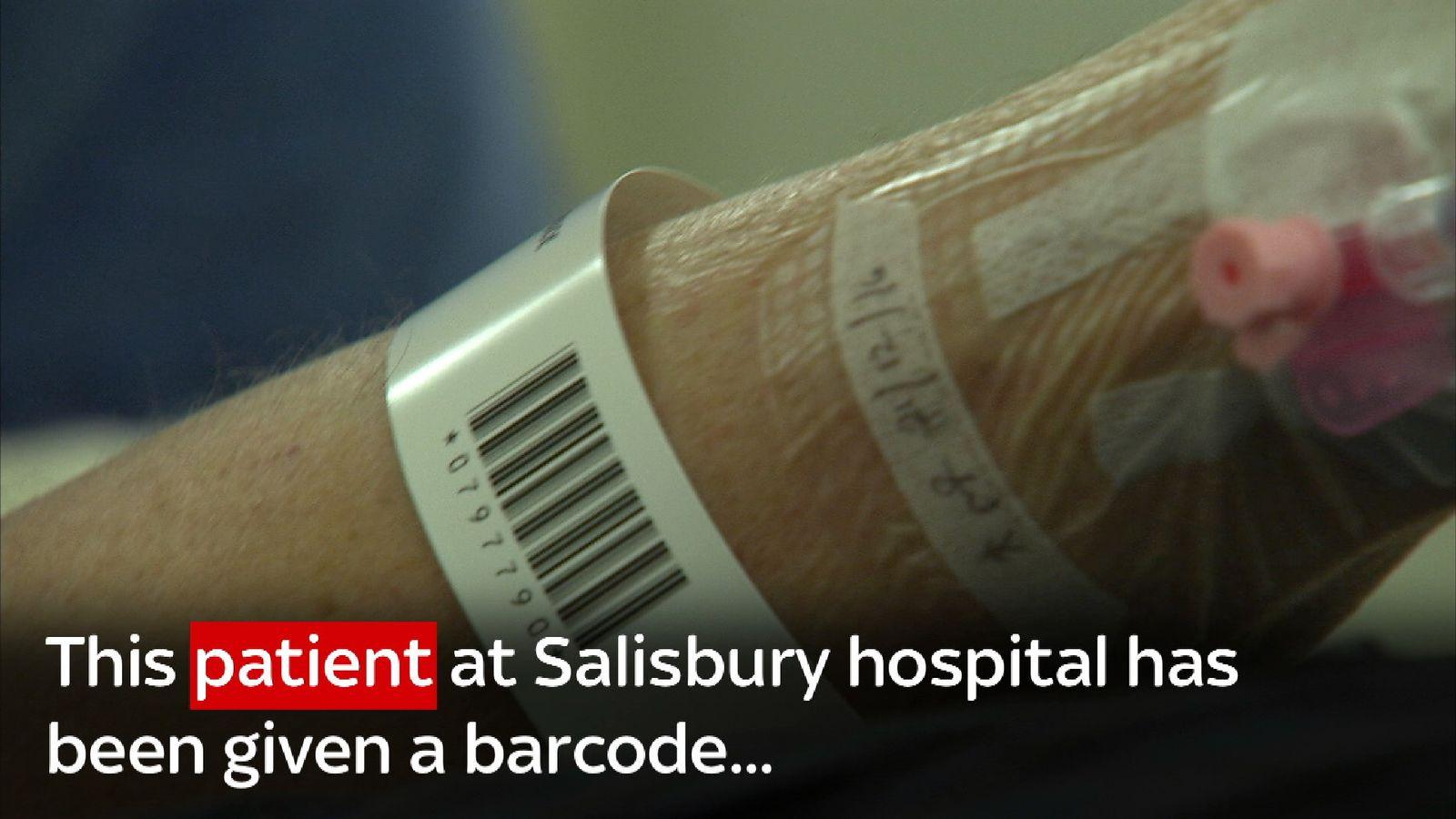 Barcode technology could roll out across NHS England