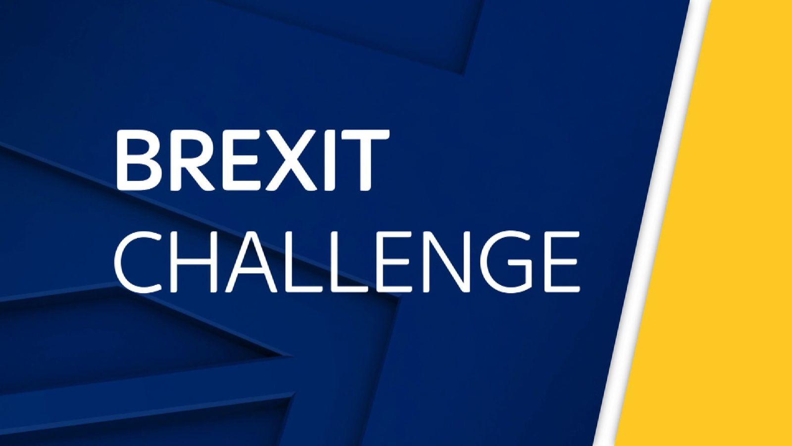 Brexit Challenge slate
