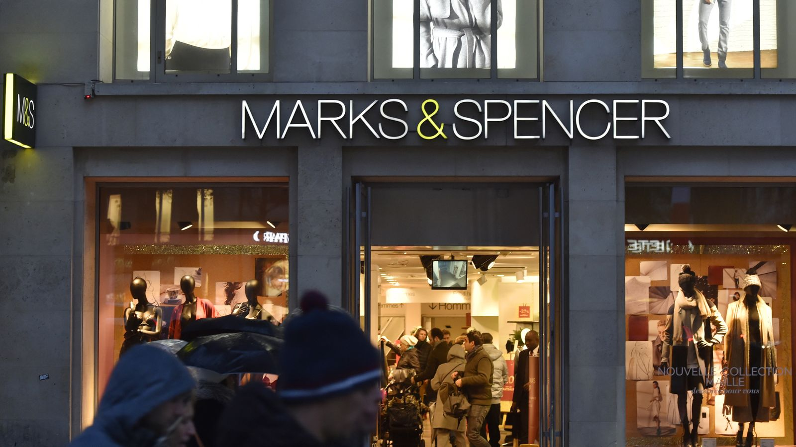 Drop in profits for Marks & Spencer amid sales dip in clothing arm