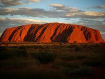 Sunset at Uluru in April 2014