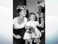 Debbie Reynolds, pictured with her daughter Carrie Fisher