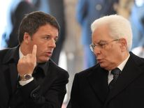 President Mattarella said the Prime Minister could resign after the budget is agreed. Pic: file