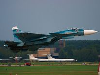A Russian Navy Su-33. Pic: Wikicommons