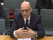 Sir Dave Brailsford appears before MPS