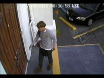 CCTV footage showed Dylann Roof entering the church in Charleston
