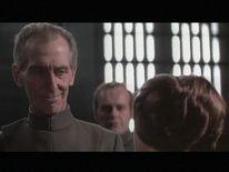 Peter Cushing starred as Grand Moff Tarkin in 1977's A New Hope