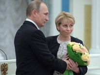 President Putin has honoured Dr Yelizaveta Glinka for her charity work
