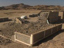 A girls' school in Sa'adah, Yemen, destroyed by bombing