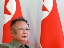 Kim Jong-Il in 2011, the year of his death