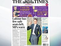 The Times says Labour faces being crushed between Ukip and a resurgent Liberal Democrat Party
