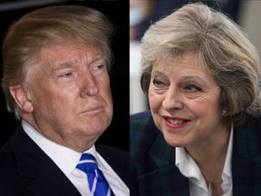 The PM was the 11th world leader Mr Trump spoke to following his election win