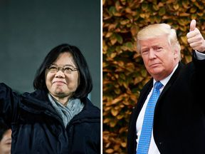 Tsai and Trump