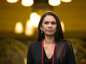 Businesswoman Gina Miller arrives at the Supreme Court for the final day of a four-day hearing