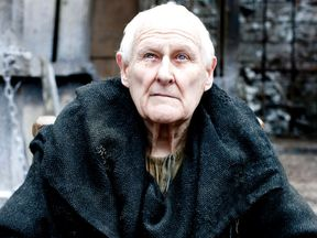 The actor portrayed the blind Maester Aemon for five years