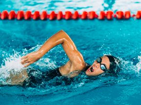 Swimming is still the most popular activity