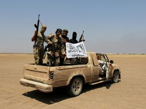 Fateh al Sham fighters