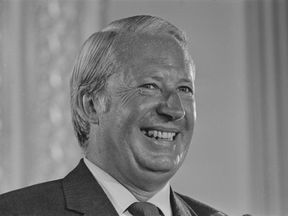 Former Prime Minister Sir Edward Heath in 1971